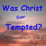 Was Christ Ever Tempted Meme