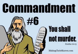 6th commandment in Exodus