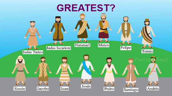 Disciples Argue Over Who is the Greatest