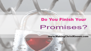 finished promises