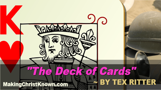 deck of cards Tex Ritter video