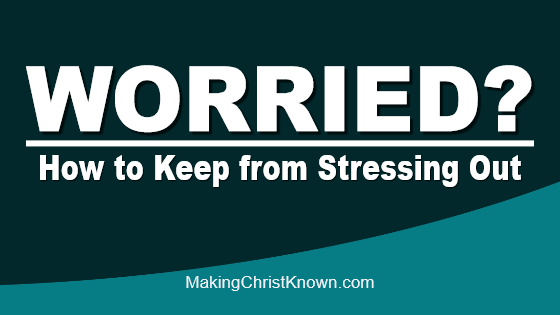Rick Warren video - How to keep from stressing out