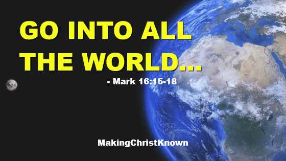 Jesus Gives the Great Commission