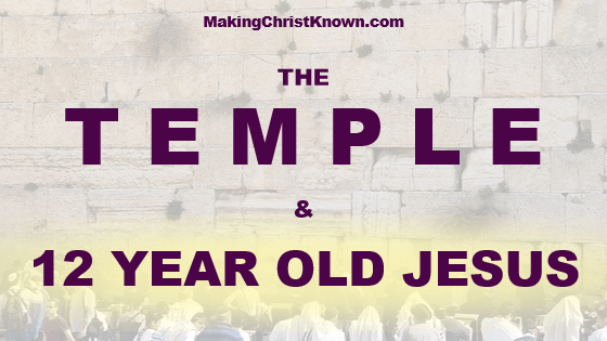 12 Year Old Jesus in the Temple