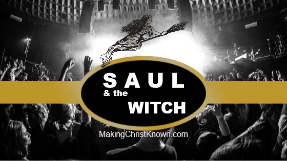 Saul and witch of Endor